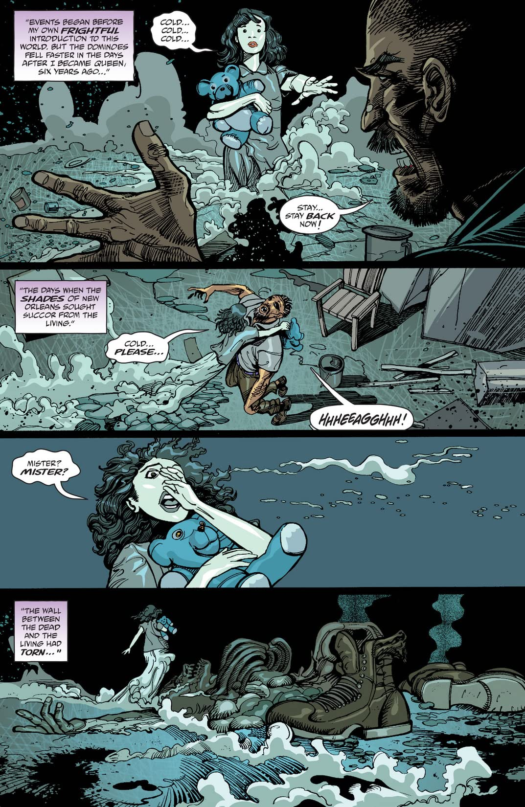 Dominique Laveau: Voodoo Child #7