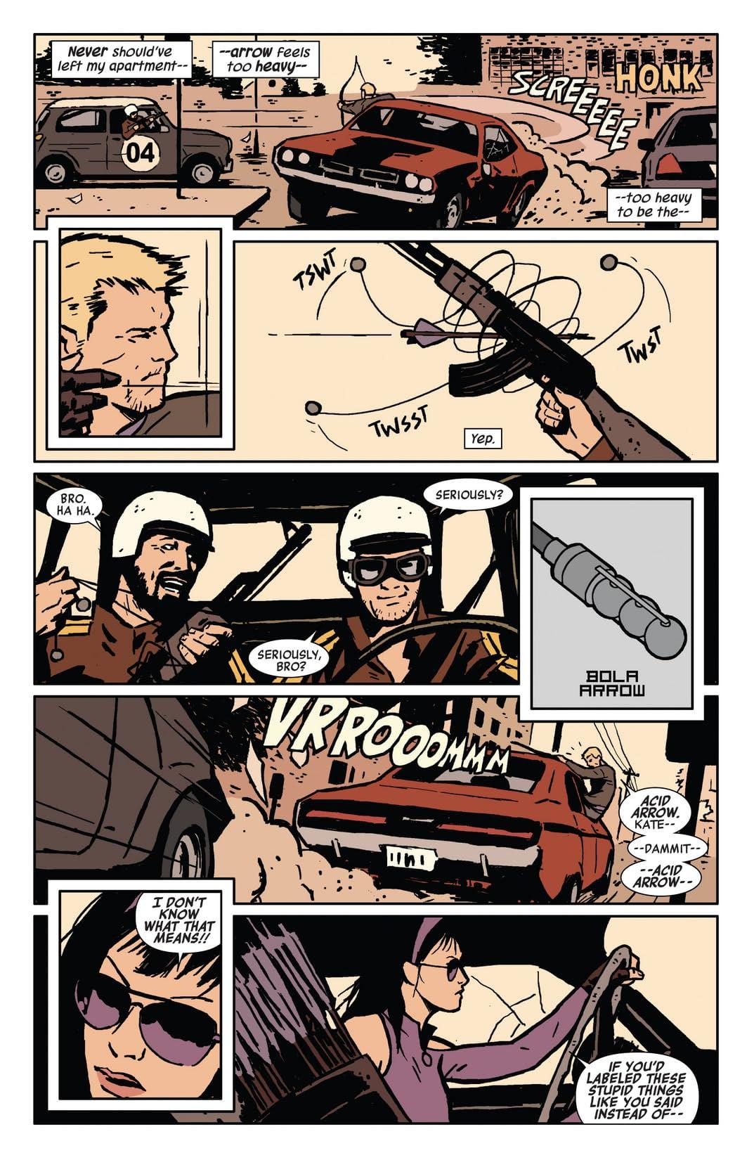 Hawkeye (2012-2015) #3