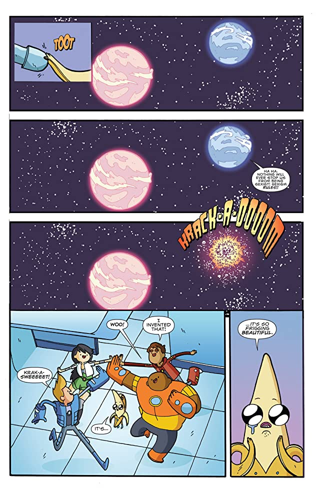 click for super-sized previews of Bravest Warriors #1