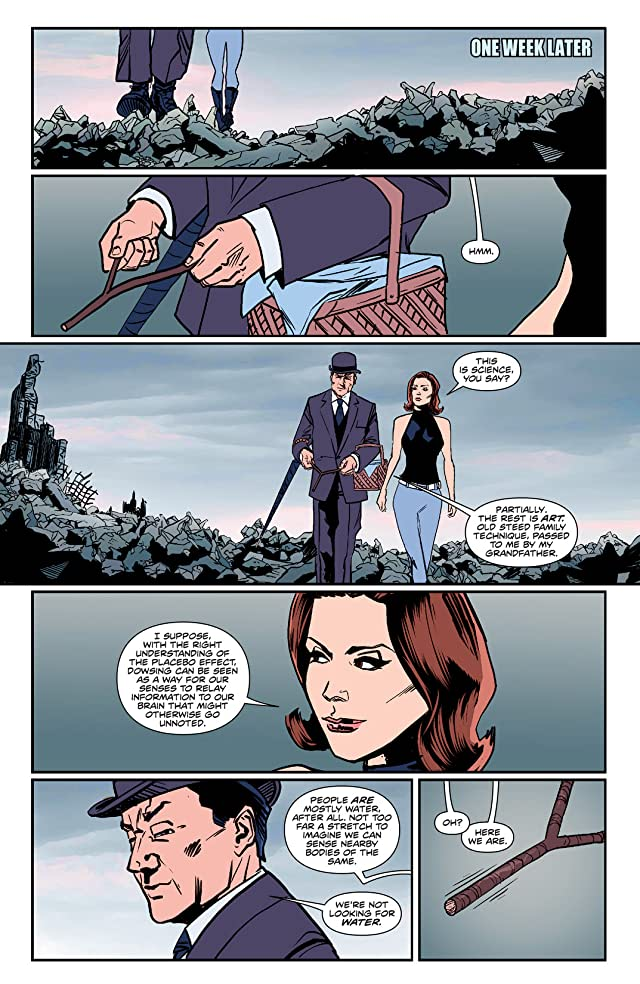 click for super-sized previews of Steed and Mrs. Peel: Ongoing #2