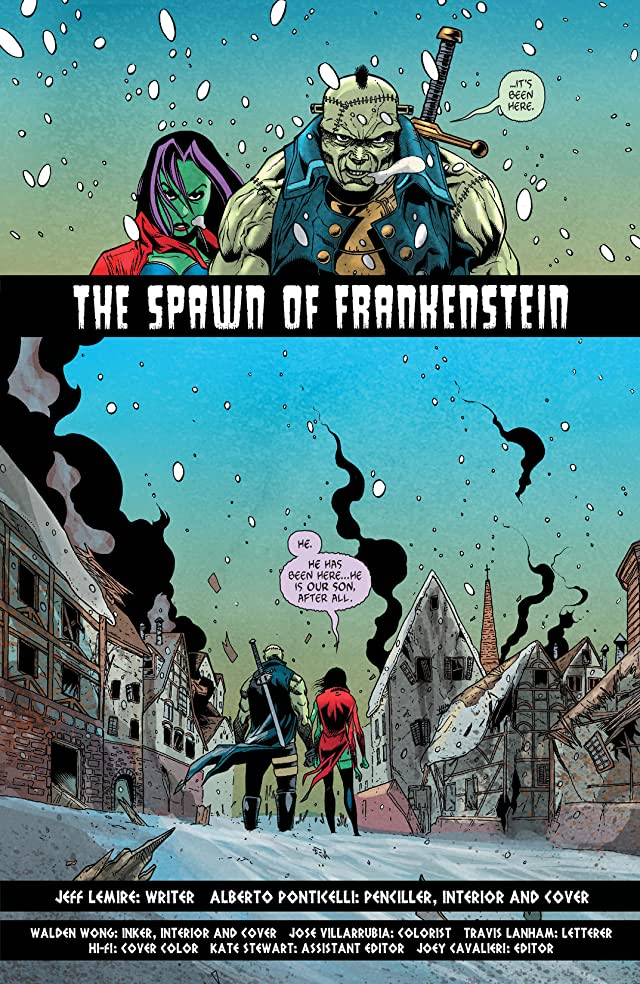 click for super-sized previews of Frankenstein, Agent of SHADE (2011-2013) #8