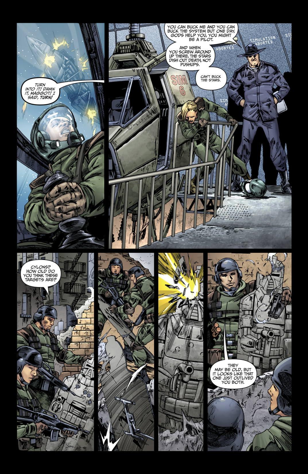 Battlestar Galactica: Origins #9