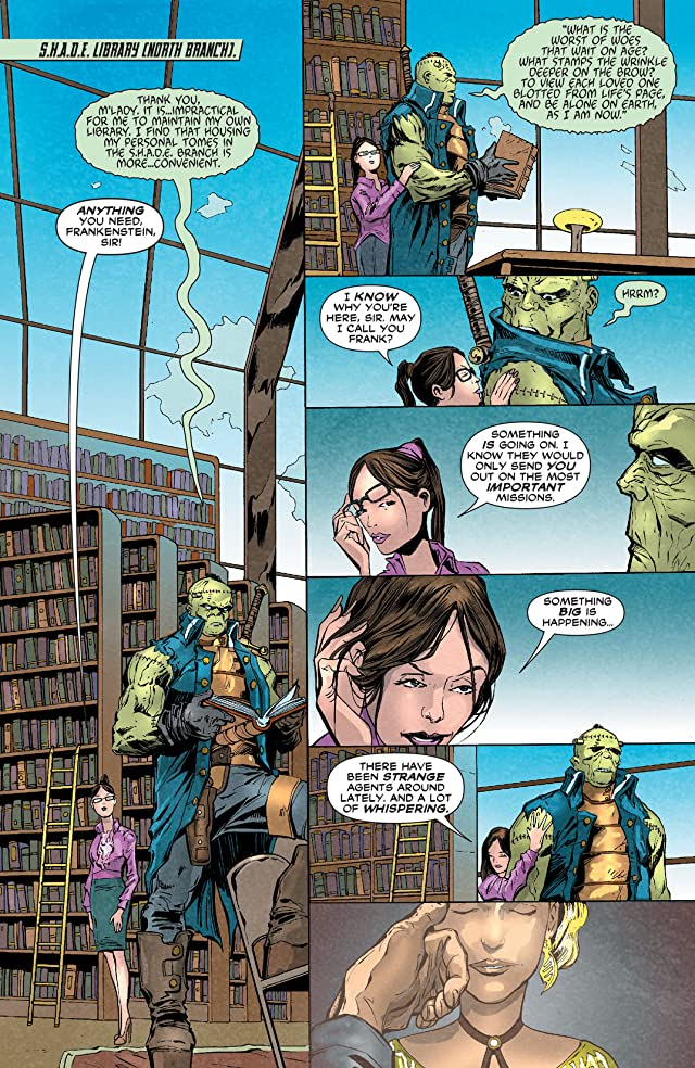 click for super-sized previews of Frankenstein, Agent of SHADE (2011-2013) #10