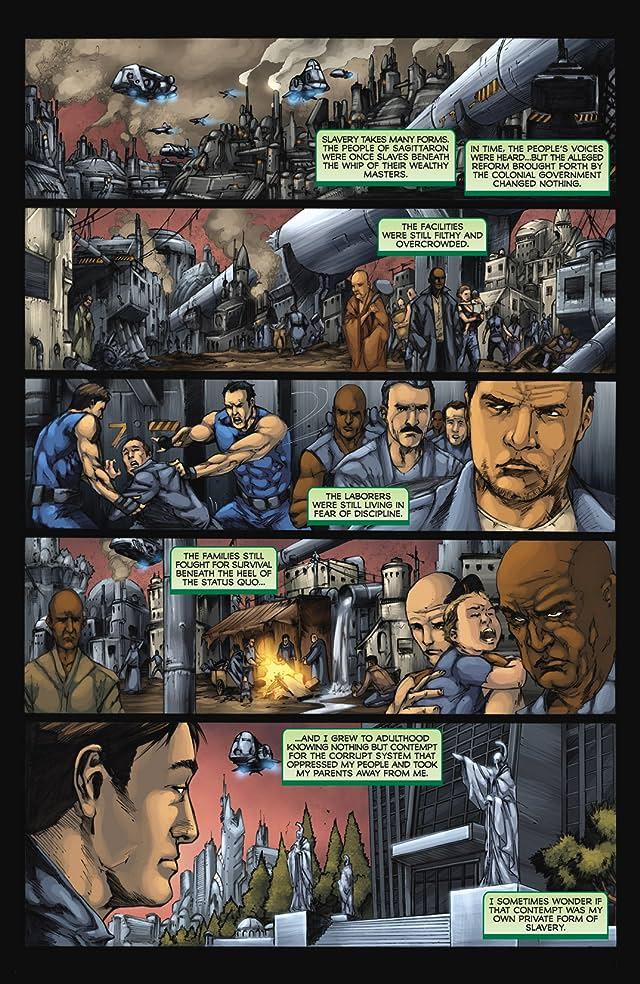 Battlestar Galactica: Zarek #2