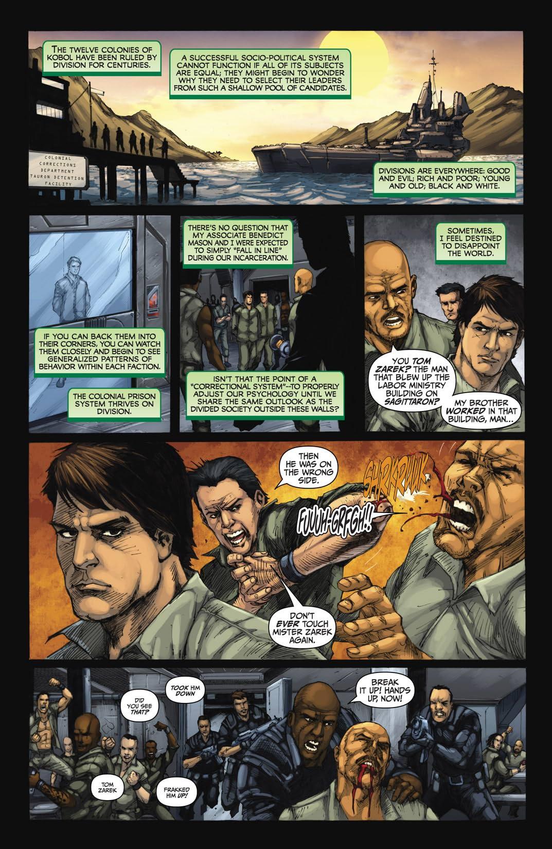 Battlestar Galactica: Zarek #3