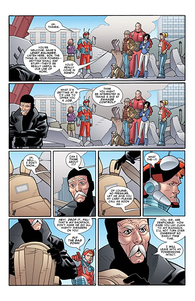 click for super-sized previews of Irredeemable Ant-Man #8
