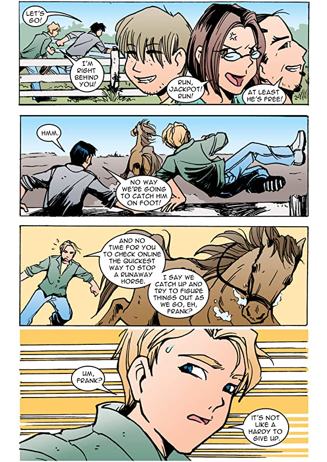 click for super-sized previews of The Hardy Boys Vol. 1: The Ocean of Osyria Preview