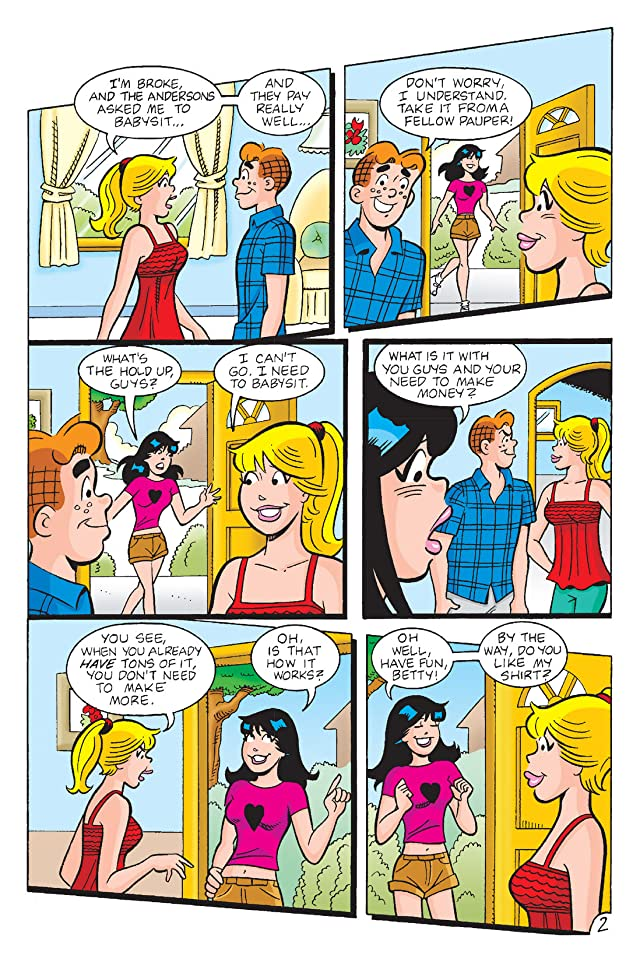 click for super-sized previews of Betty & Veronica: Storybook
