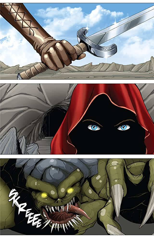 click for super-sized previews of Grimm Fairy Tales: Bad Girls #3