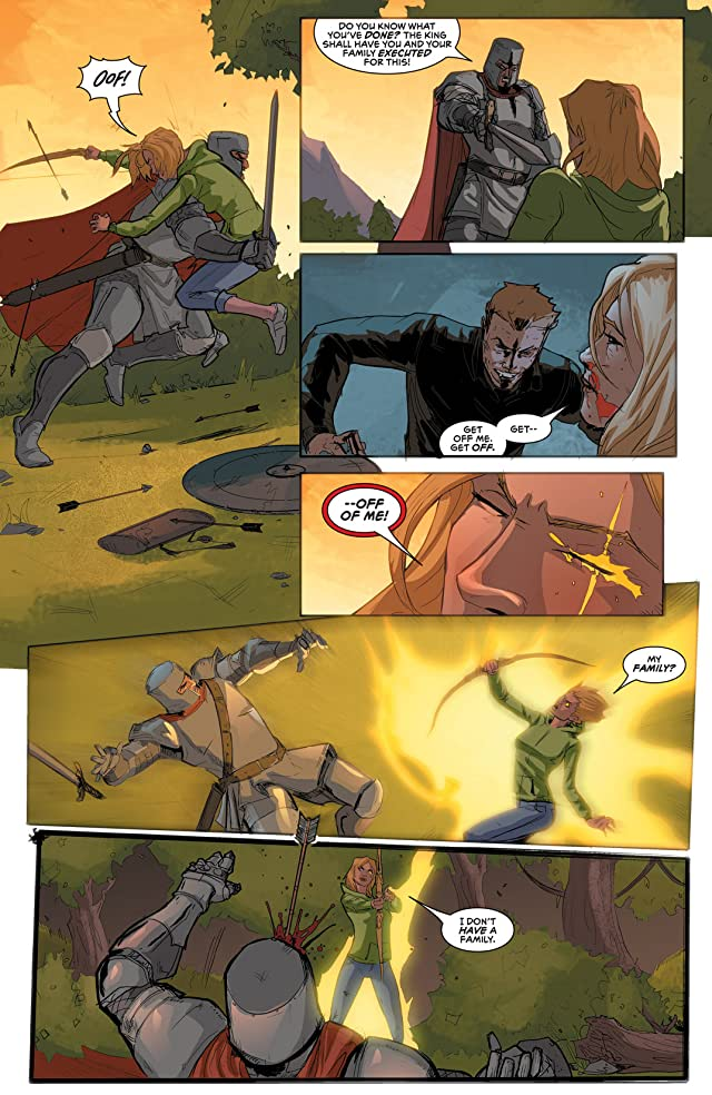 click for super-sized previews of Robyn Hood #2 (of 5)