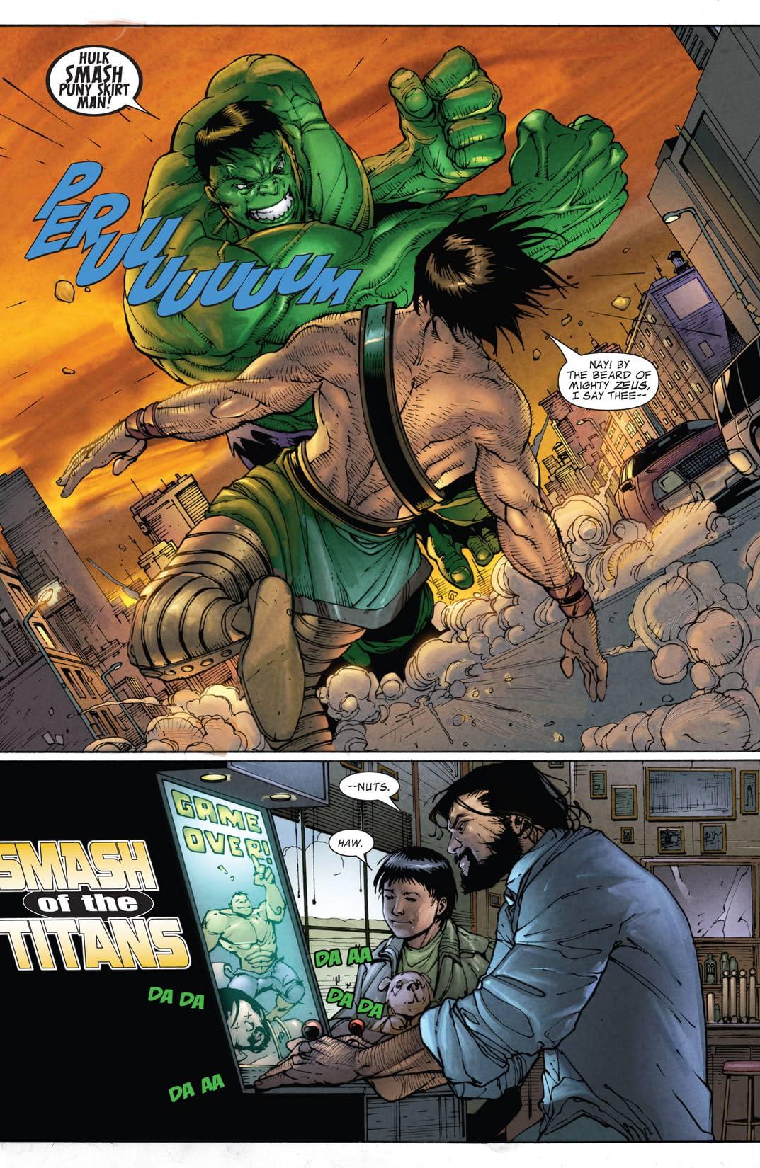 Hulk vs. Hercules: When Titans Clash