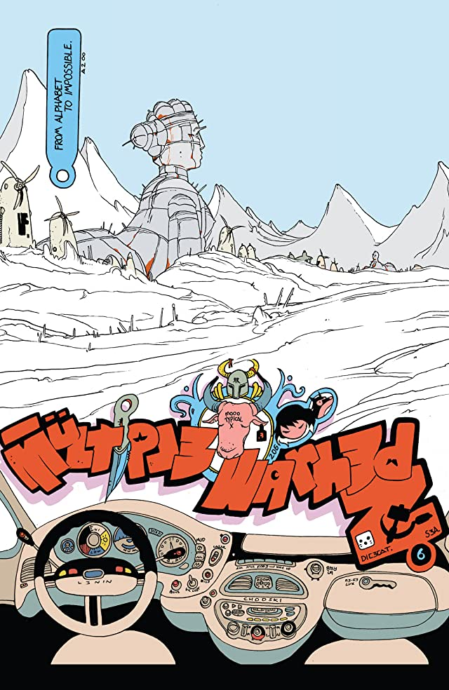 click for super-sized previews of Multiple Warheads: Alphabet To Infinity #1