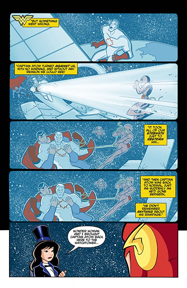 click for super-sized previews of Justice League Unlimited #1