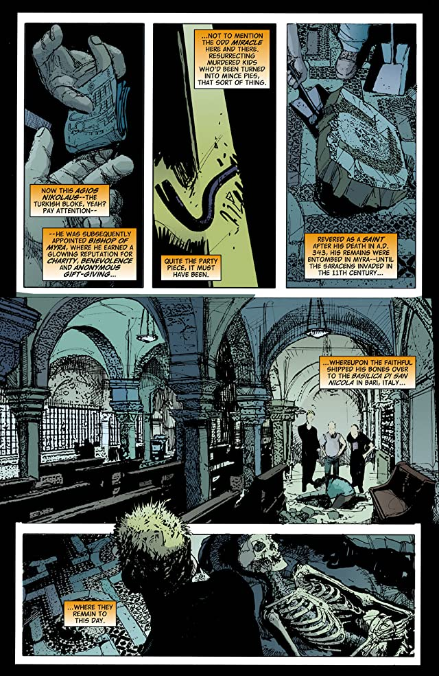 click for super-sized previews of Hellblazer #247