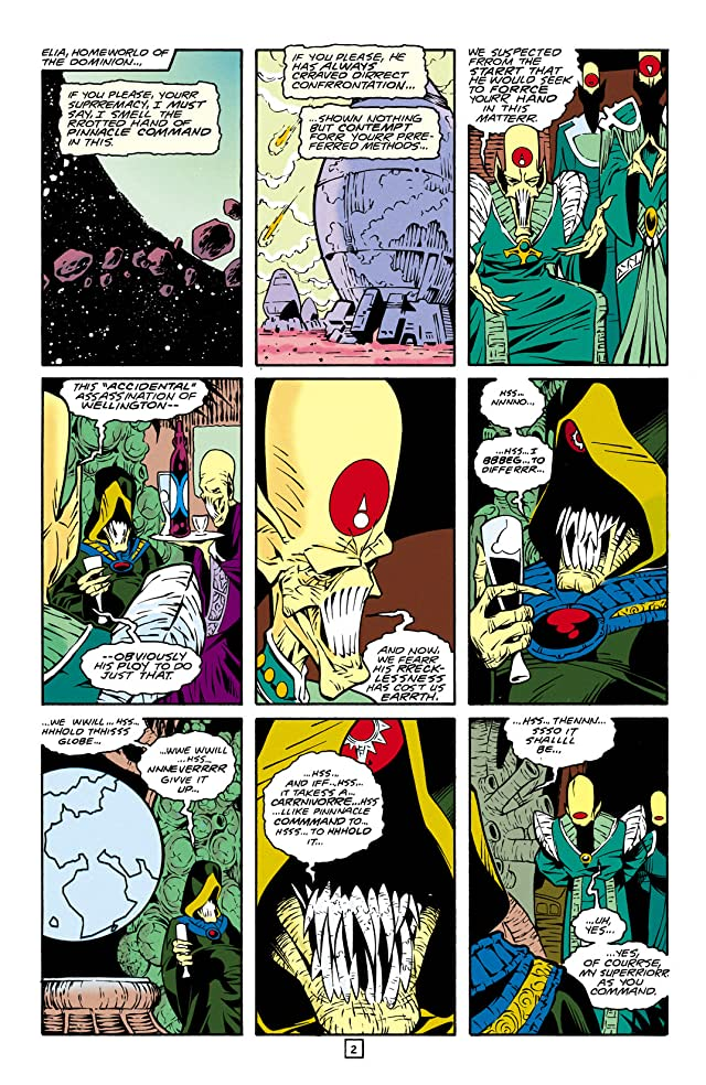 click for super-sized previews of Legion of Super-Heroes (1989-2000) #30