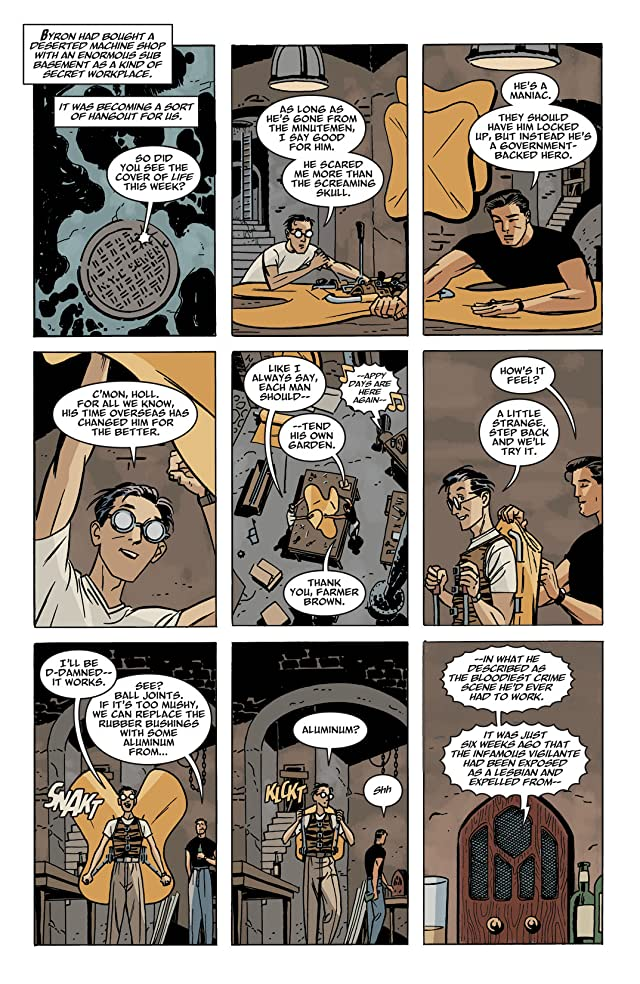 click for super-sized previews of Before Watchmen: Minutemen #4