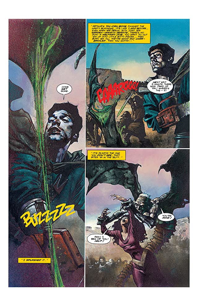 click for super-sized previews of Army of Darkness: Movie Adaptation #3
