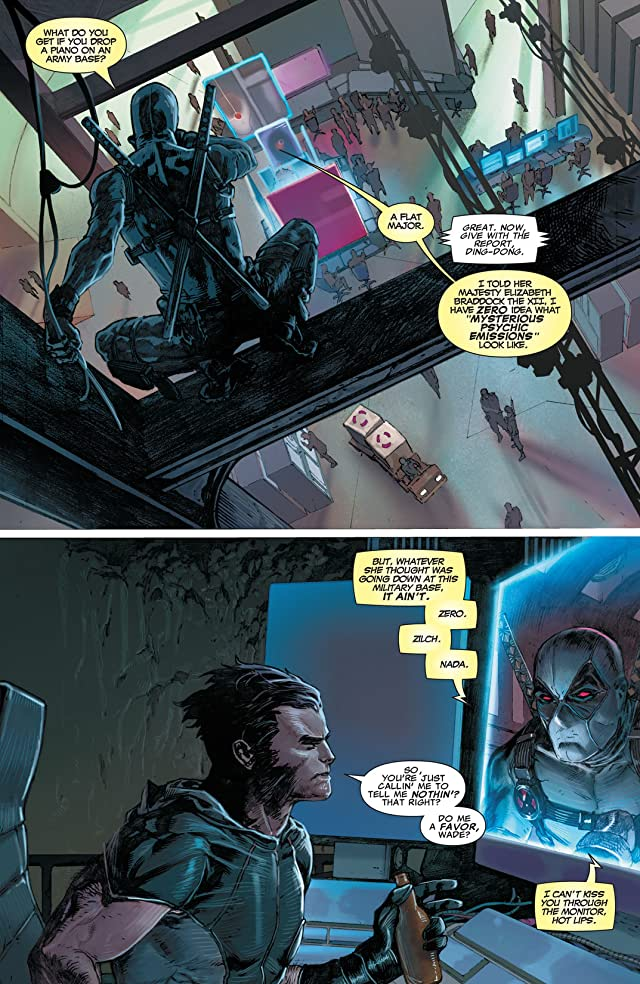 click for super-sized previews of Uncanny X-Force (2010-2012) #8