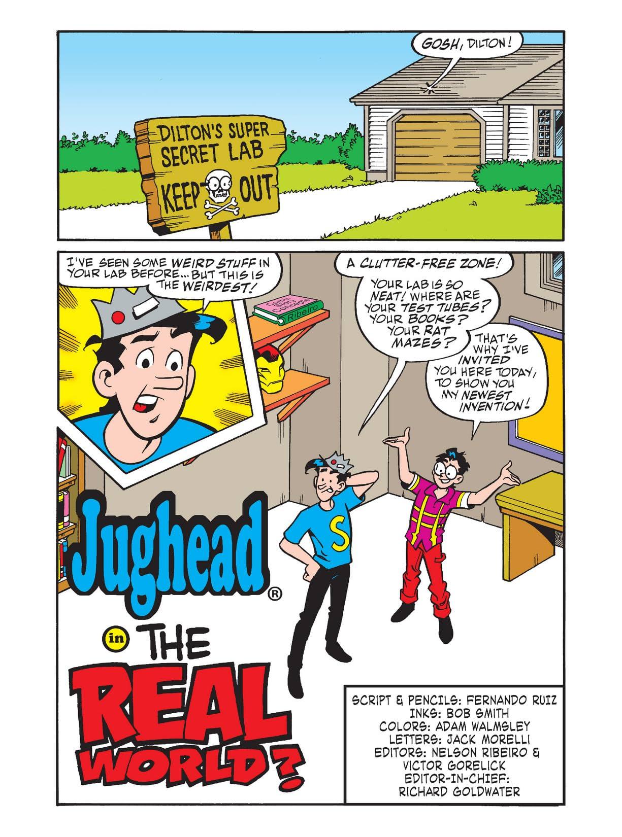 Jughead and Friends Digest #23