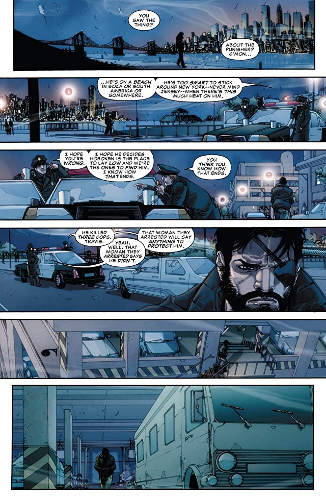 click for super-sized previews of Punisher: War Zone #1