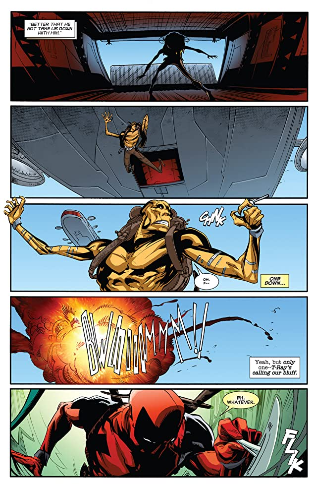 click for super-sized previews of Deadpool (2008-2012) #63