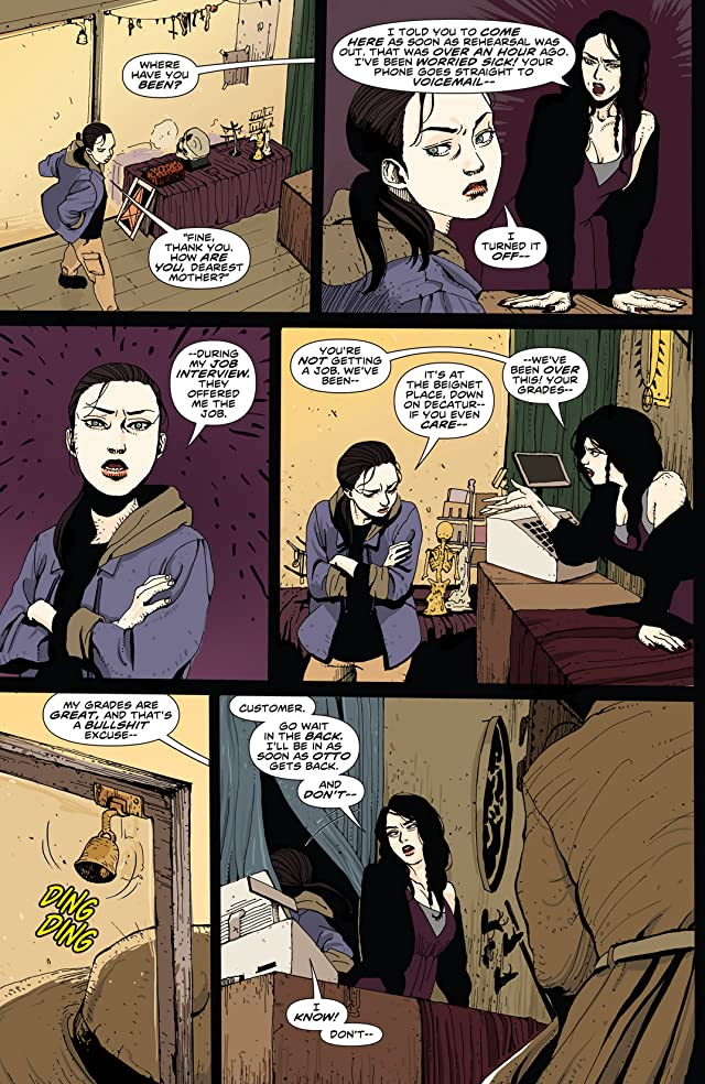 click for super-sized previews of Hellraiser: The Road Below #1
