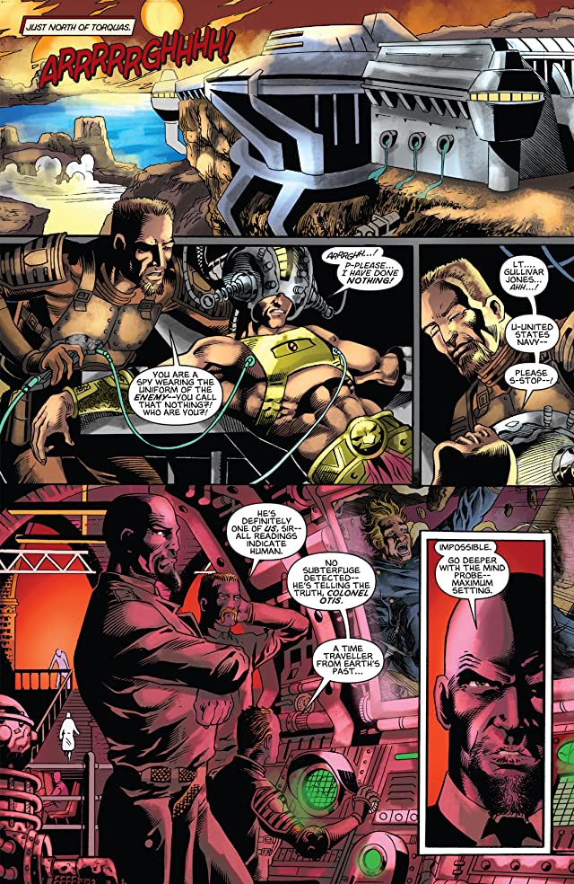 click for super-sized previews of Warriors of Mars #5