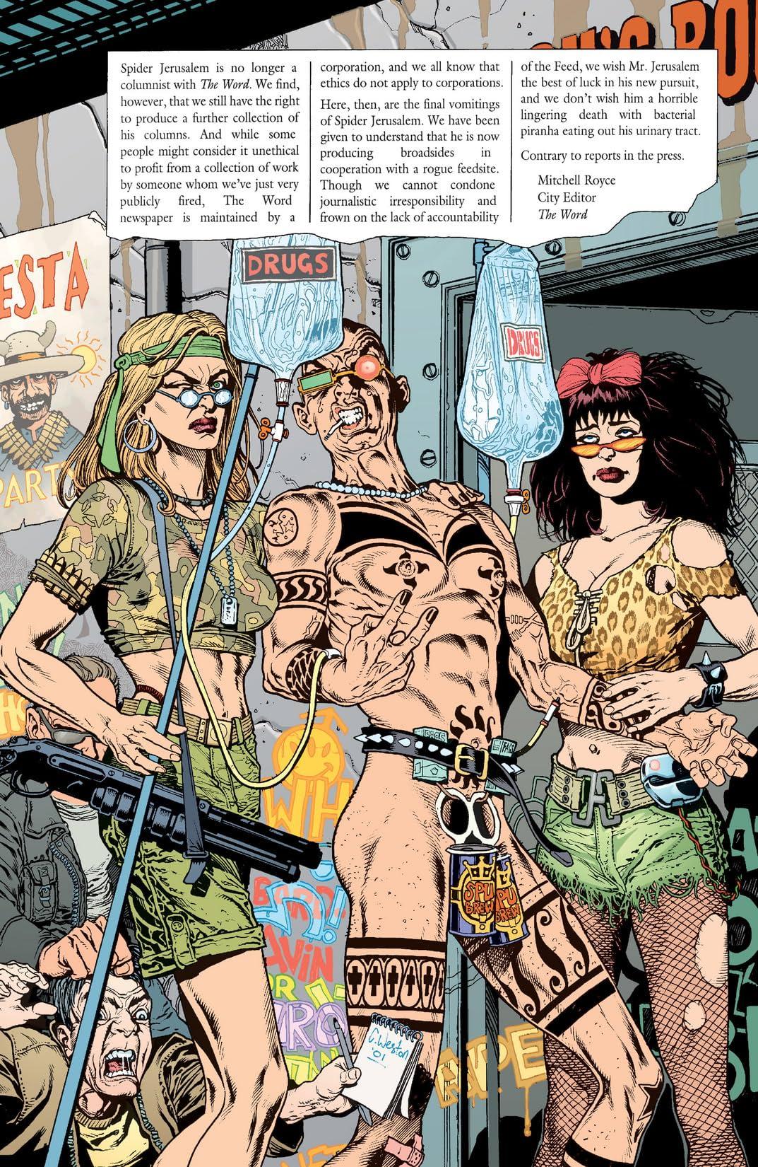 Transmetropolitan: Filth of the City