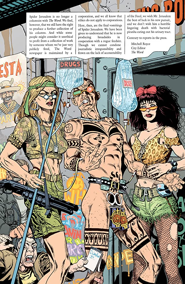 click for super-sized previews of Transmetropolitan: Filth of the City