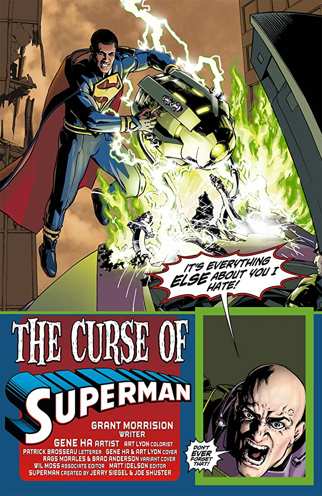 click for super-sized previews of Action Comics (2011-) #9
