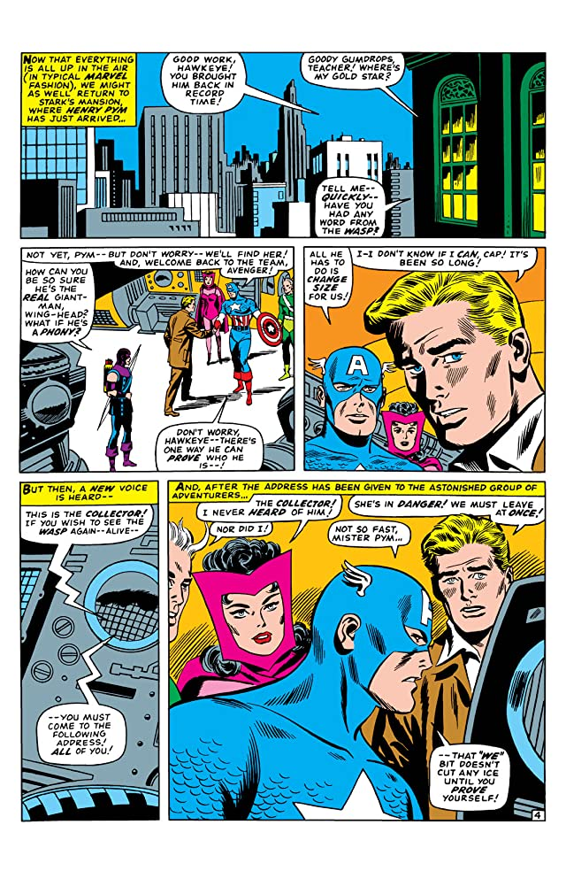 click for super-sized previews of Avengers (1963-1996) #28