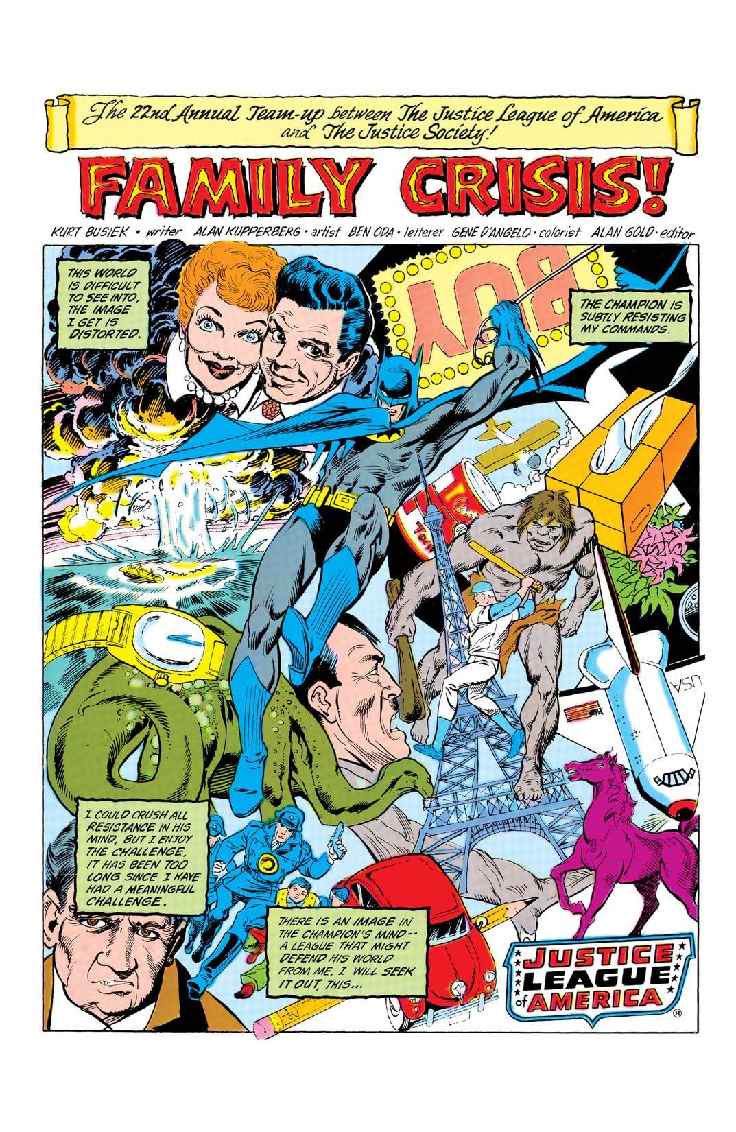 Justice League of America (1960-1987) #231