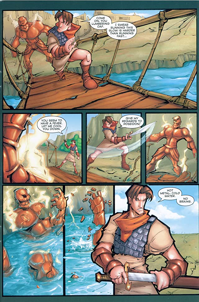 click for super-sized previews of Ray Harryhausen Presents: Jason & the Argonauts - Kingdom of Hades #3