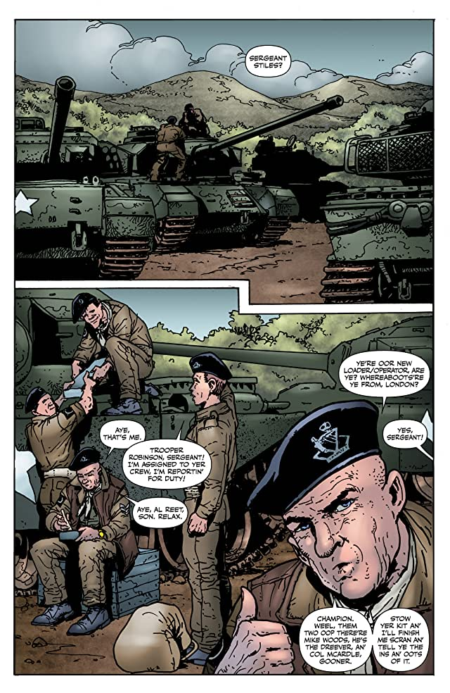 click for super-sized previews of Garth Ennis' Battlefields #1: The Green Fields Beyond - Part 1