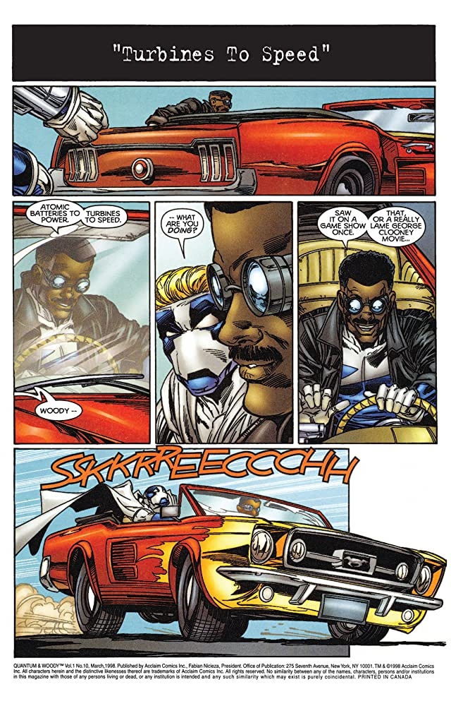 Quantum and Woody (1997-2000) #10