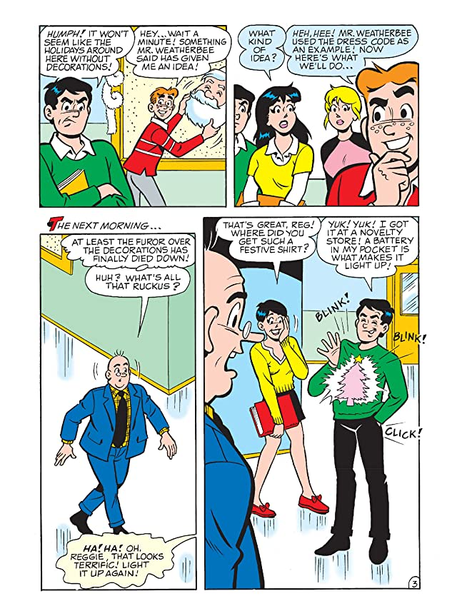 click for super-sized previews of Archie & Friends Double Digest #21