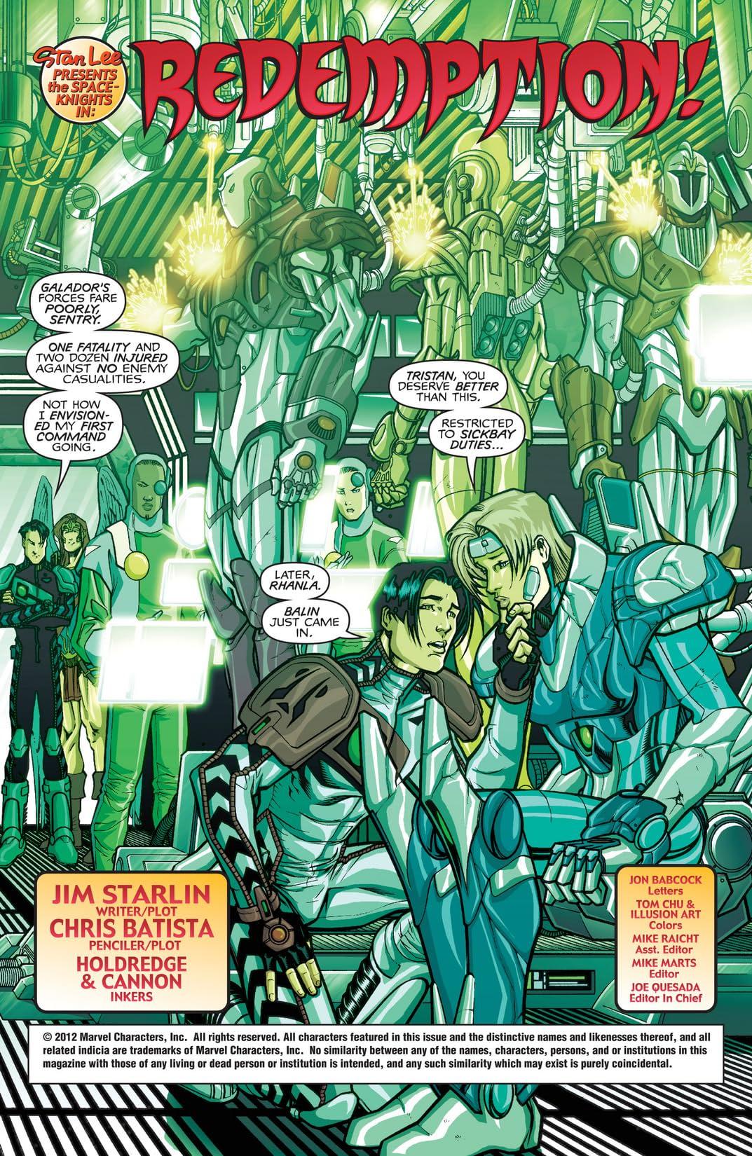 Spaceknights #2 (of 3)