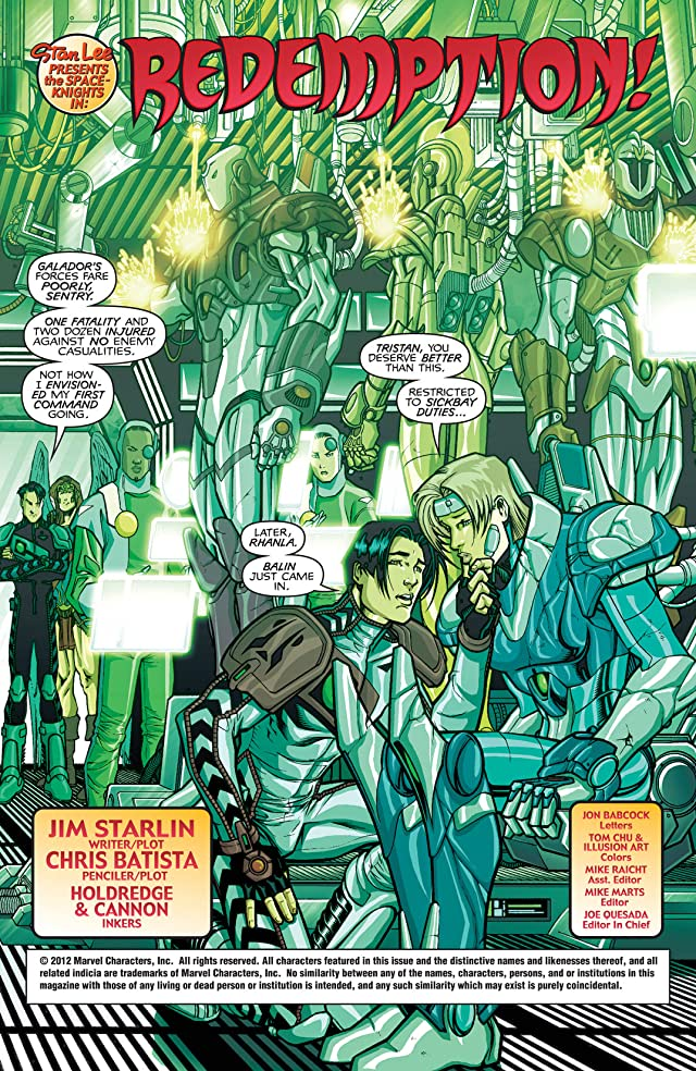 click for super-sized previews of Spaceknights #2