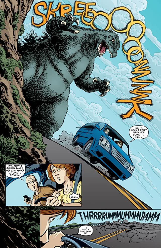 click for super-sized previews of Godzilla (2011-2013) #6