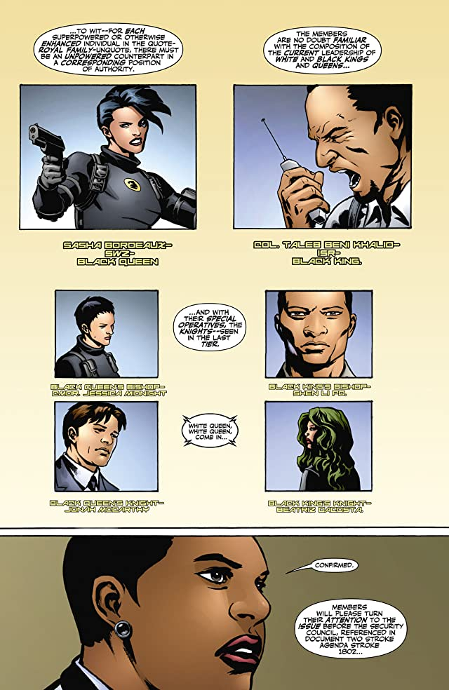 click for super-sized previews of Checkmate (2006-2008) #1