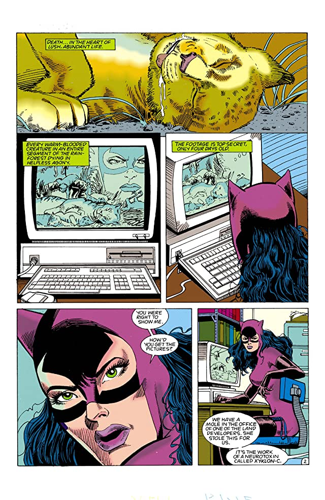 click for super-sized previews of Catwoman (1993-2001) #6