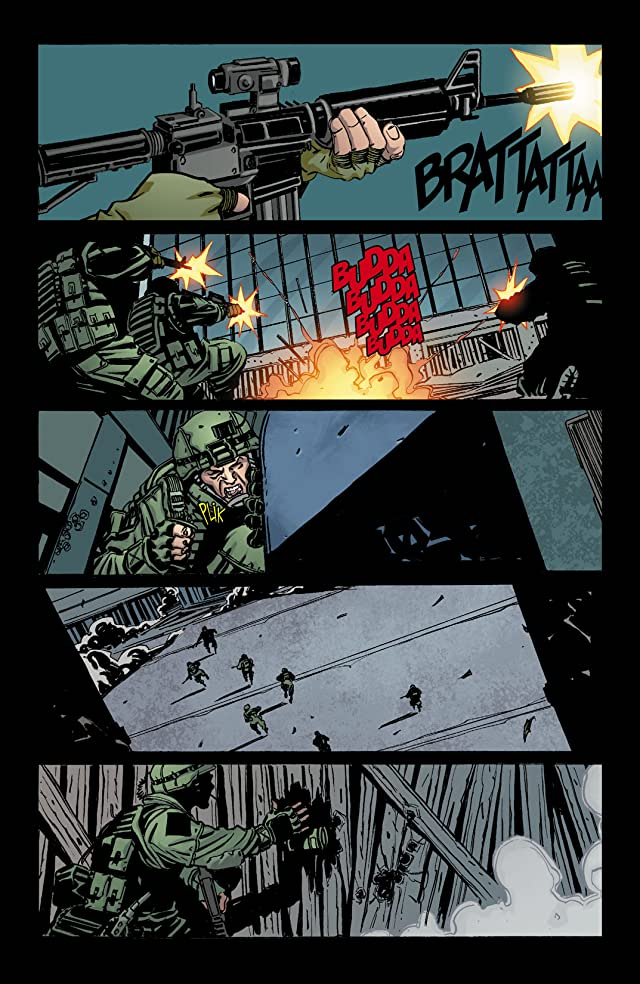 click for super-sized previews of DMZ #64