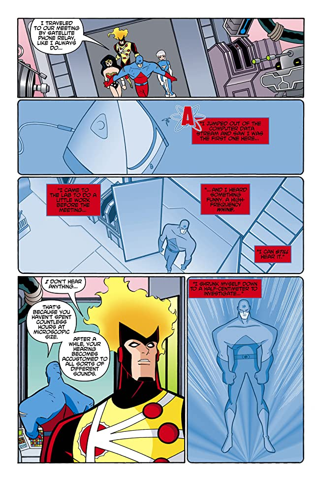 click for super-sized previews of Justice League Unlimited #3