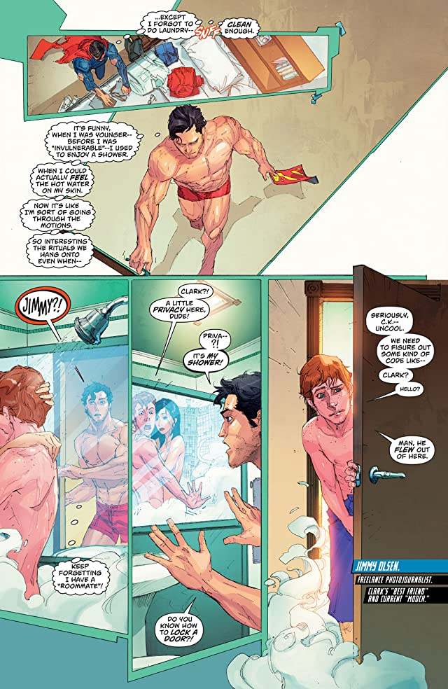 click for super-sized previews of Superman (2011-) #13