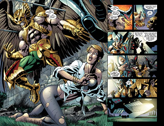 click for super-sized previews of The Savage Hawkman (2011-2013) #13