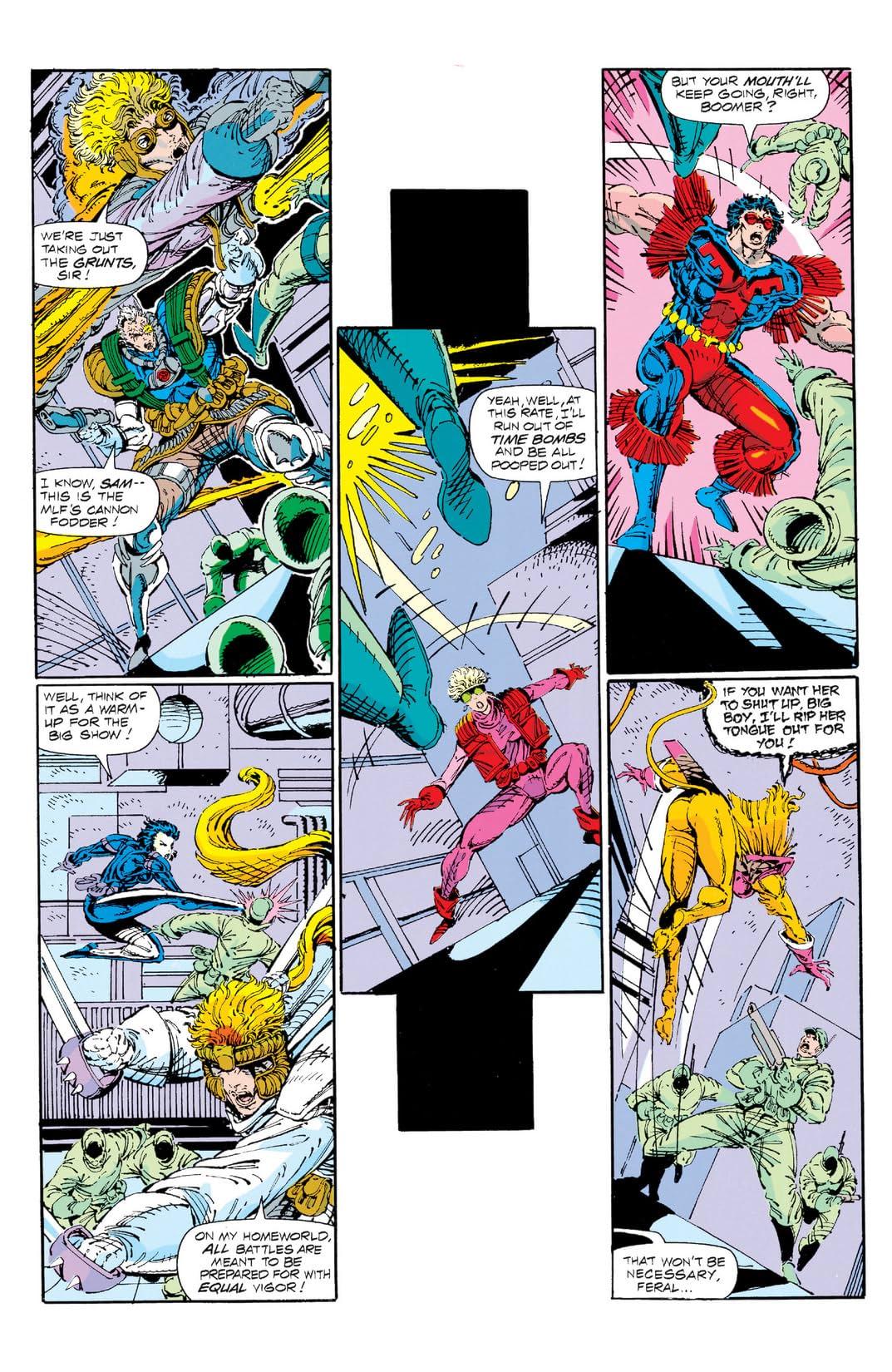 X-Force (1991-2002) #1
