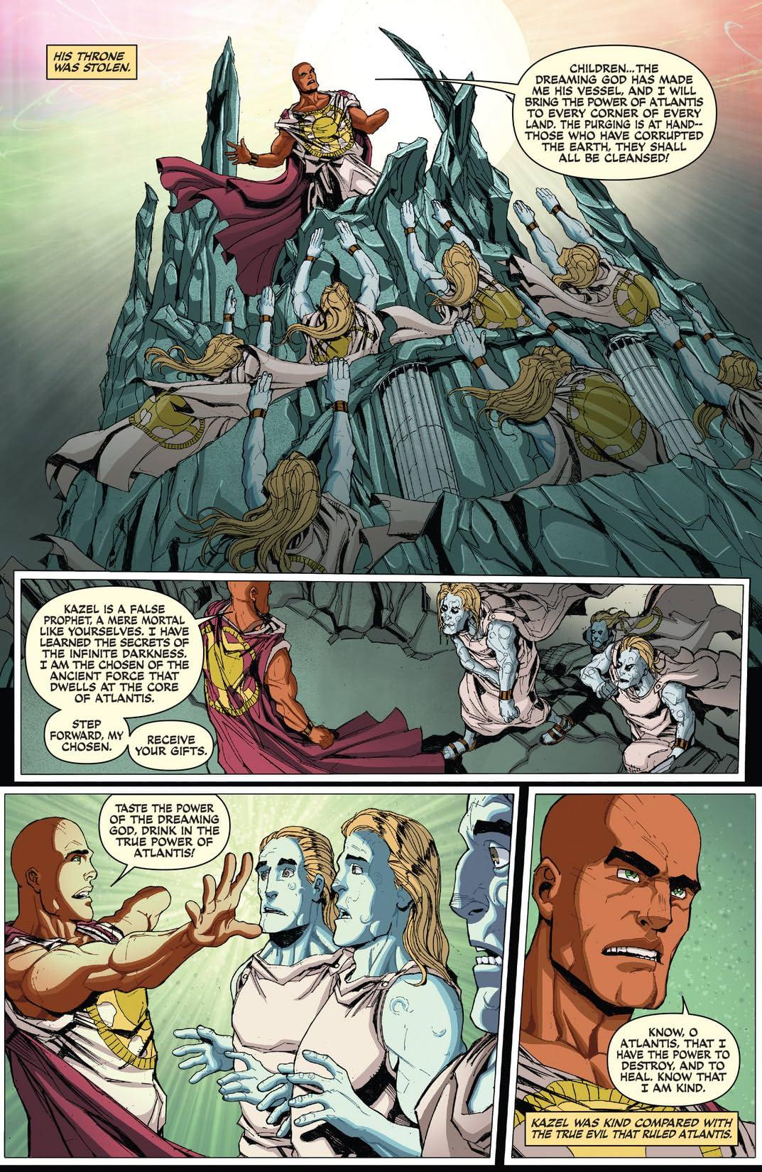 Red Sonja: Atlantis Rises #3