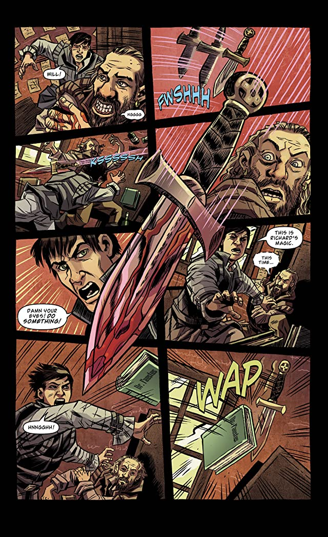 click for super-sized previews of Kill Shakespeare #10
