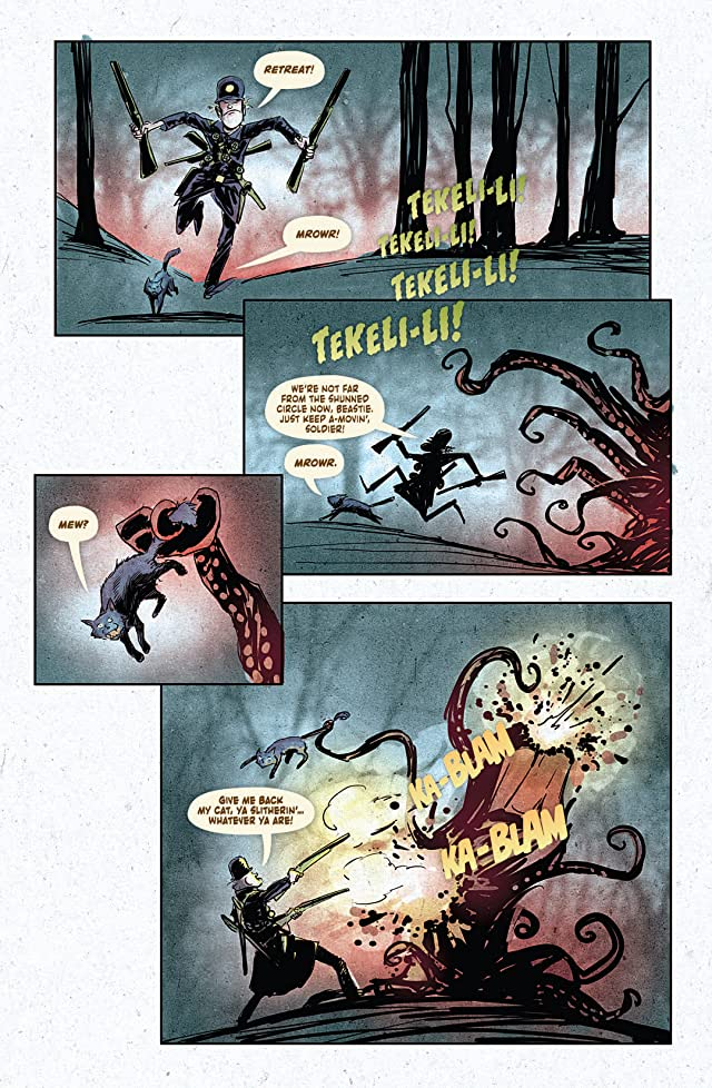 click for super-sized previews of Howard Lovecraft & Undersea Kingdom #3