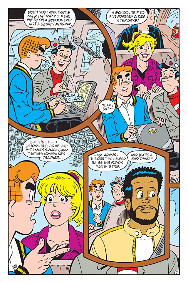click for super-sized previews of Archie: World Tour
